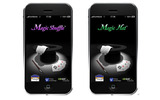 iPhone/iPod touchでマジックが出来るアプリ『Magic Shuffle』『Magic Hat』12月18日配信開始の画像