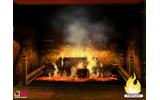 TVを暖炉にする、あったかWiiウェアが登場の画像