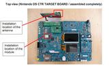 3DSの基板写真がリーク、噂通りシャープの3D液晶ディスプレイを採用? の画像