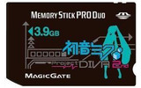 発売日も価格も容量もみっくみく「初音ミク ‐Project DIVA‐ 2nd Memory Stick PRO Duo」HORIから発売の画像