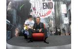 【TGS 2010】お疲れ様? 名越氏がセガブースでゴロン・・・でもファンサービスを忘れずの画像