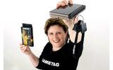 ニンテンドーDSのゲームをなくさない新発明、オーストラリアのママが開発の画像