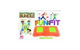 子供向けフィットネスゲームはオリジナルカラーのバランスWiiボードでの画像
