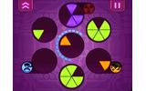 円を作って消していく忙しパズル ― DSiウェア『Frenzic』の画像