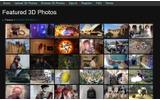 3DSなどで鑑賞できる3D写真を集めたサイト の画像