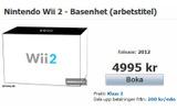 スウェーデンの小売店でWii 2の予約が開始!?の画像