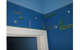 バスルームを『スーパーマリオブラザーズ』風に改装の画像