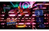 画面上のキャラクターにあわせてダンス。基本的な動作は右側のアイコンに表示される。の画像