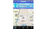 えき☆ポチは施設の地図も表示してくれます えき☆ポチは施設の地図も表示してくれますの画像