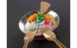 キラとアスランの金網越しの再会をイメージしたデザート「僕の大事なもの」の画像