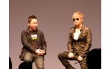 井上氏とGackt氏による協力プレイの画像