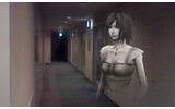 誰もいない夜の廊下に女性の影が・・・の画像