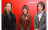 イニスの新人3名。左から志度谷昌平氏、多田野友紀さん、永井裕也氏の画像