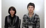 トイロジックでメンターを務めた遠渡知里さん(開発部デザイン課デザイナー・左)と、新人の林宏晃氏(開発部プログラム課プログラマー・右)の画像