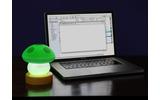 USB Mushroom Lampの画像