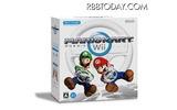 マリオカートWii+Wiiハンドルセットの画像
