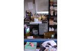 プリントするインクを調合する部屋。指定された色をここで調合して作りますの画像