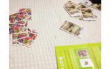 カード背面。右が羊カード、ひだりがおたからカードですの画像
