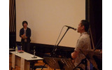 光田氏の音楽への熱い思いを語る神永氏の画像