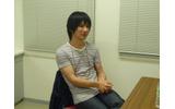 楽屋でインタビューに応じてくださった光田氏の画像