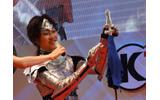 【TGS 2012】「着物は織りました、3メートル」レイヤーさん必見!様々な工夫がなされたコーエーテクモコスプレコンテスト出場者のこだわりの画像