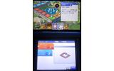 3DSで画面は2画面になっているので、手元で色々な情報を確認できて便利です。の画像