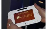 2011年のE3で撮影したWii U GamePadの画像