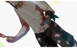 公式サイトより、ガイアの水着姿。なぜお菓子を持って立ち尽くしているかというと・・・の画像