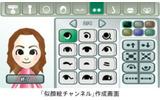こちらはWiiの「似顔絵チャンネル」の画像