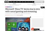 マイクロソフト、新型機「Xbox TV」を来年リリースかの画像