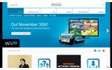 欧州任天堂のウェブサイトの画像