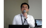 SIG-Audio世話人で総合司会を務めたスクウェア・エニックスの土田善紀氏の画像