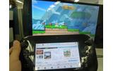 TVにはYouTubeがそのまま流され、GamePadでは別のサイトを閲覧できますの画像