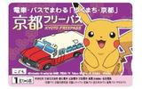 電車・バスでまわる「歩くまち・京都」京都フリーパスの「こども券」の画像