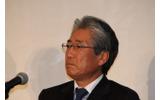 招致委員会理事長の竹田恆和氏の画像