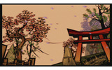 夕日に染まる風景もまた絶景です!の画像