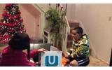 Wii Uをプレゼントされた少年の画像