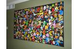 あなたはいくつ知ってる?ゲームキャラ勢揃いのレゴで作ったモザイクの画像