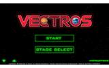 『VECTROS』(ベクトロス)は、NenetがiOSで1月16日から配信しているアプリ。iPhoneのジャイロセンサーによるシンプル操作と、ワイヤーフレームのグラフィックが特徴の3Dシューティングゲームです。の画像