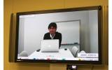 松尾 隆志 氏(テクニカルアーティスト) 東京スタジオからテレビ会議で参加していただいたの画像