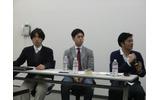 セミナーに登壇した3名がクラウドファンディングについて議論の画像