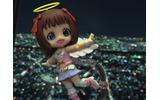 夜景をバックに、本物の天使のようですの画像