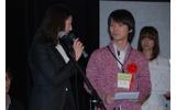 大賞を受賞したチーム「M3」リーダーの福田裕紀君の画像