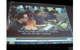アメリカで実施されたGラーニングのニュース映像の画像
