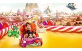 少女ヴァネロペたちのレースゲーム「シュガー・ラッシュ」の世界への画像