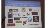【GDC 2013】ニコロデオンの開発者が語る「HTML5ライブラリの失敗しない選び方」の画像