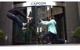 大阪のカプコン本社スタッフによる波動拳!の画像