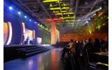 派手にショーアップされたIGFアワードの授賞式の画像