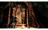 新たに公開されたスクリーンショット「篝火での休息」の画像