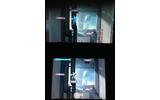 2画面の切り替えはとてもレスポンスが良く、ジャンプ中の切り替えも可能ですの画像